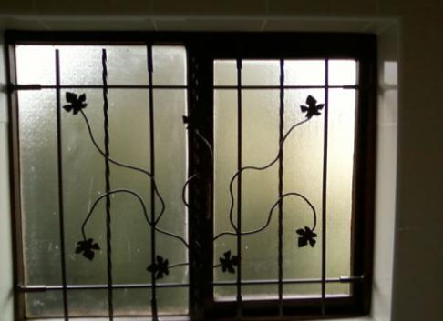 Twisted Steel offers custom designed burglar bar to fit neatly inside any size or shape window bay