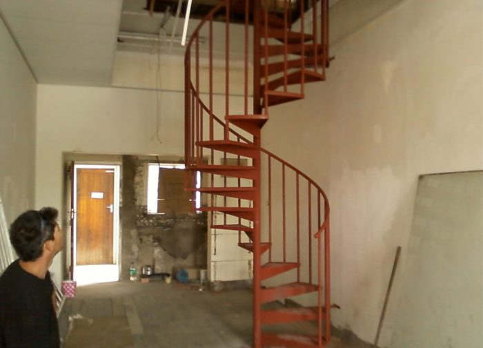Adding Style to your home with a Spiral Staircase by Twisted Steel based in Port Elizabeth
